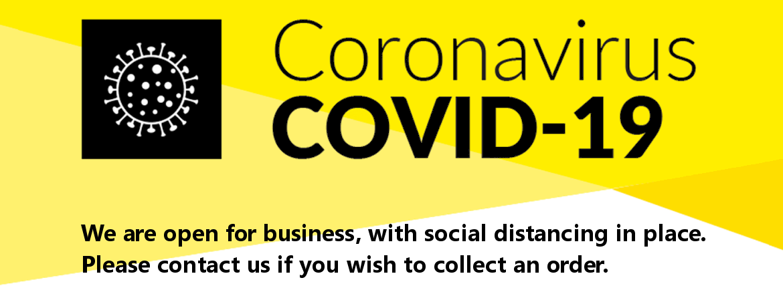 Coronavirus COVID-19 - Open for business